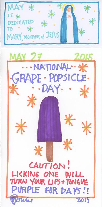 Grape Popsicle 2015