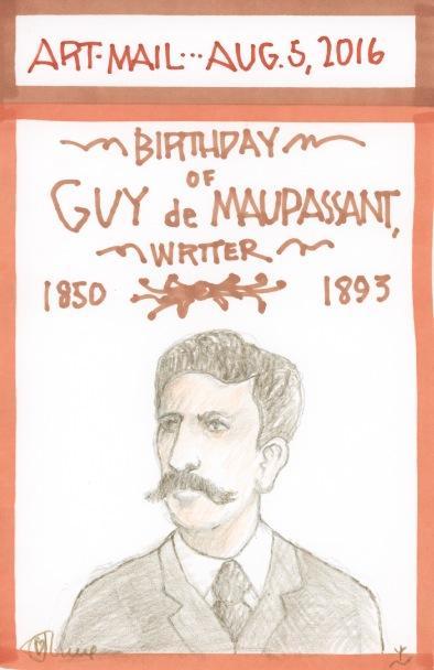 Guy de Maupassant 2016