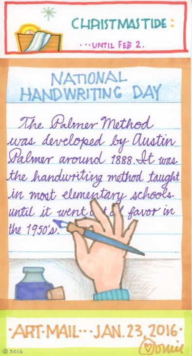 Handwriting 2016