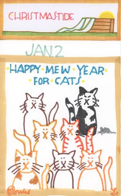 Happy Mew Year 2017