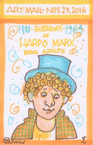 Harpo Marx 2016