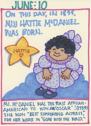 Hattie McDaniel 2017
