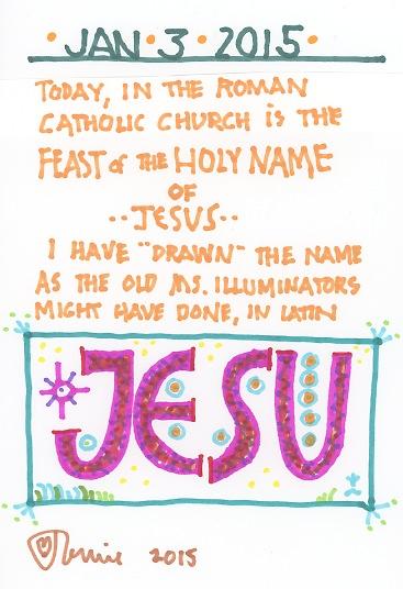 Holy Name Jesus 2015