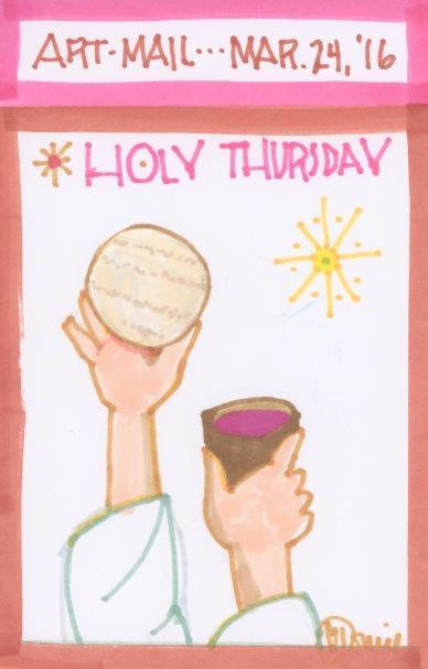 Holy Thursday 2016