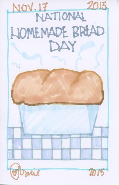 Homemade Bread 2015