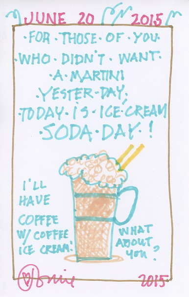 Ice Cream Soda 2015