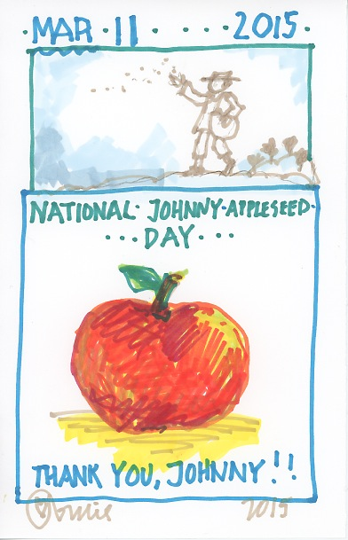 Johnny Appleseed 2015