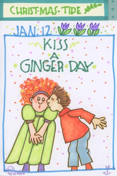 Kiss a Ginger 2017