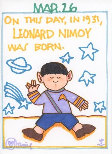 Leonard Nimoy 2017