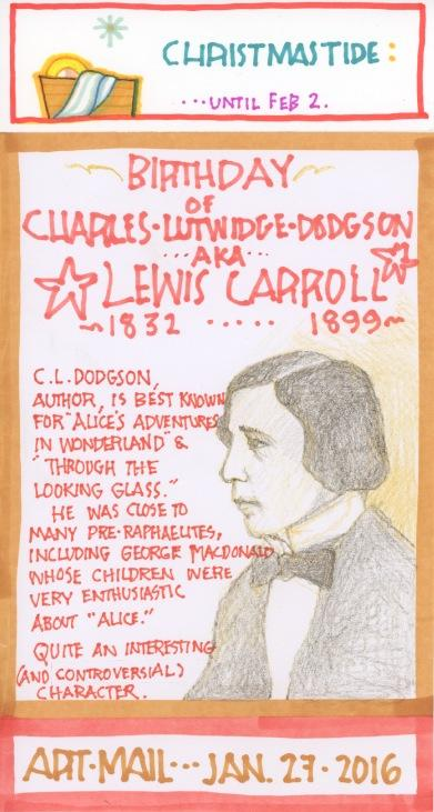 Lewis Carroll 2016