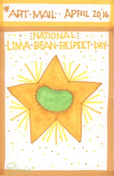 Lima Bean Respect 2016
