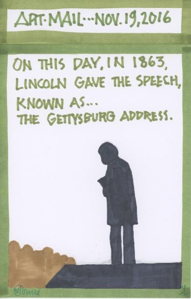 Lincoln Gettysburg Address 2016