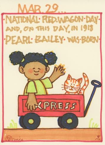 Little Red Wagon Pearl Bailey 2017