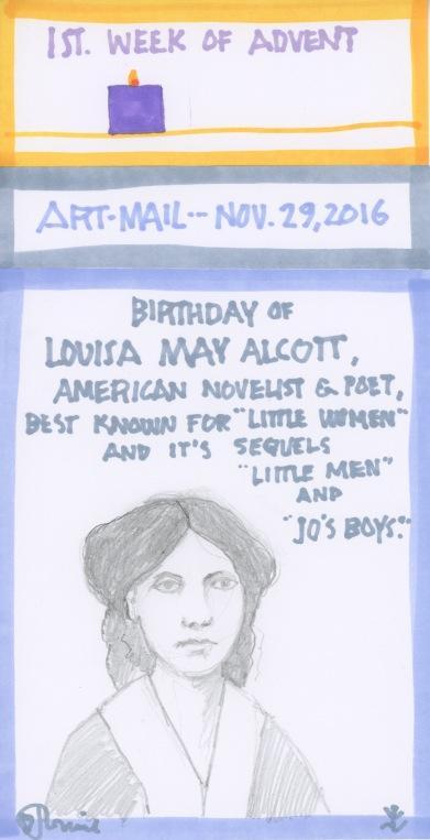 Louisa May Alcott 2016