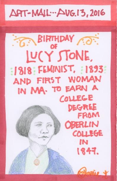 Lucy Stone 2016