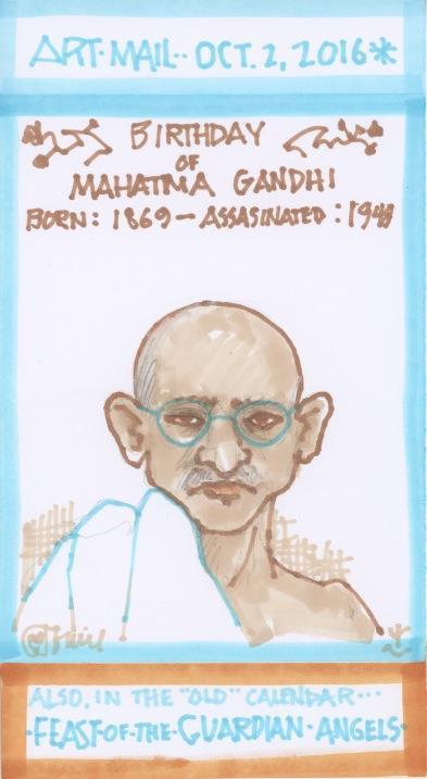 Mahatma Gandhi 2016