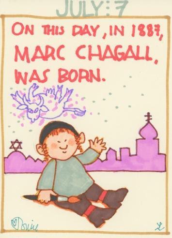 Marc Chagall 2017