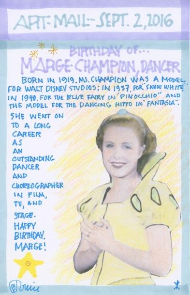 Margaret Champion 2016