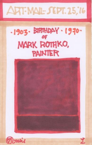 Mark Rothko 2016