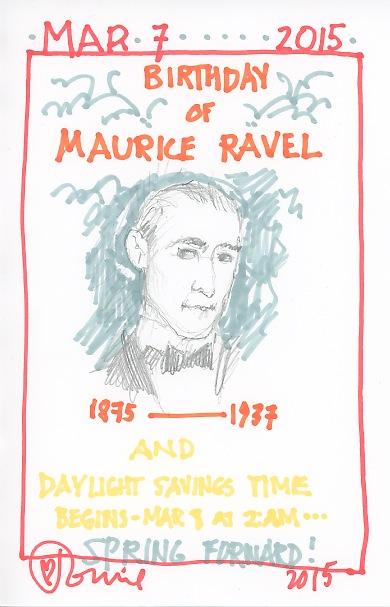 Maurice Ravel 2015