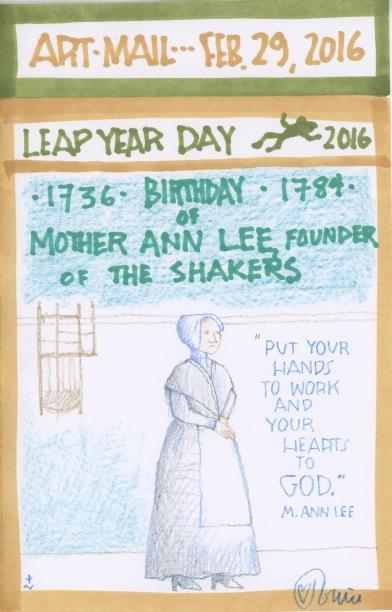 Mother Ann Lee 2016