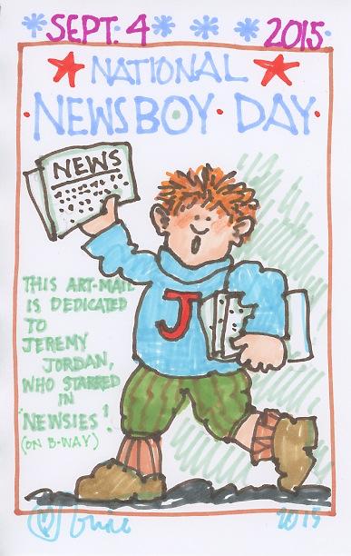 Newsboy 2015