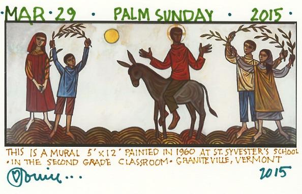 Palm Sunday 2015