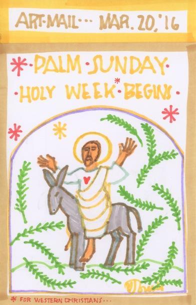 Palm Sunday 2016