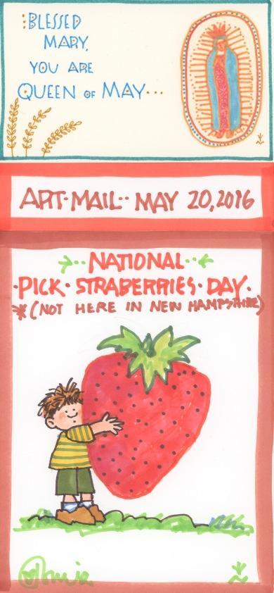 Pick Strawberries 2016