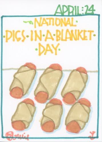 Pigs in a Blanket 2017