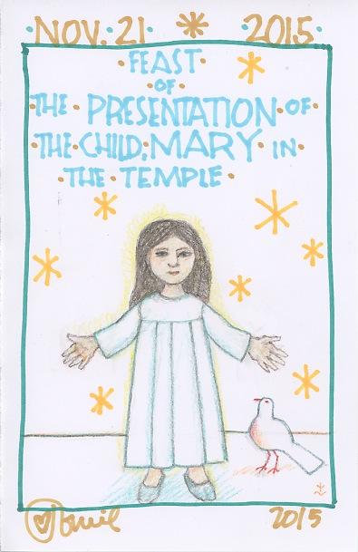 Presentation Child Mary 2015