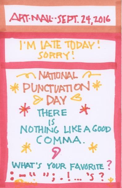 Punctuation 2016