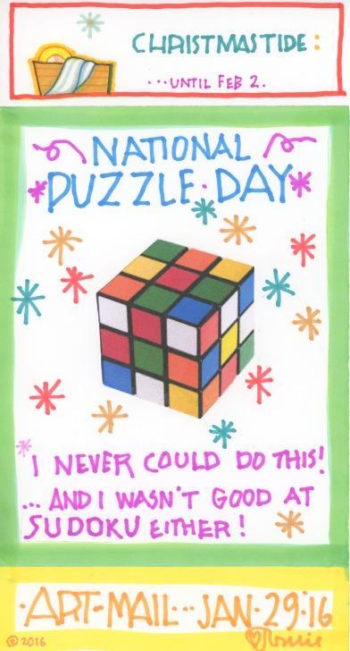 Puzzle 2016
