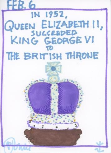 Queen Elizabeth II Throne 2017