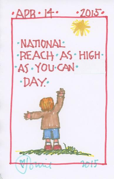 Reach as High as You Can 2015
