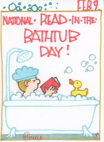 Read in the Bathtub 2017