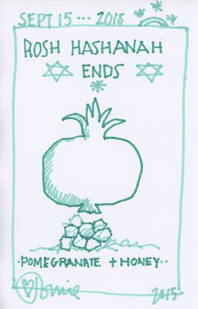 Rosh Hashanah Ends 2015