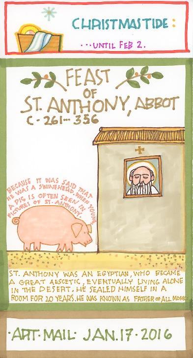 St Anthony Abbot 2016