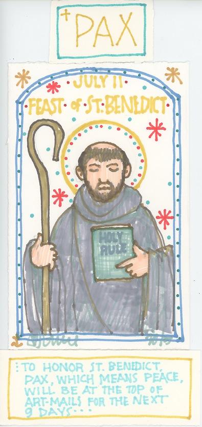 St Benedict Feast 2015