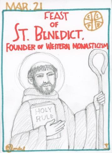 St Benedict Feast 2017