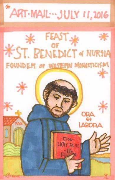 St Benedict Nursia 2016