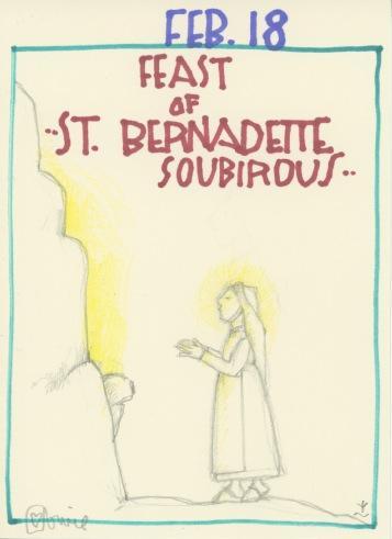 St Bernadette Soubirous 2017
