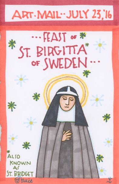 St Birgitta of Sweden 2016