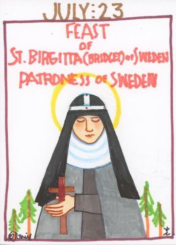 St Birgitta of Sweden 2017