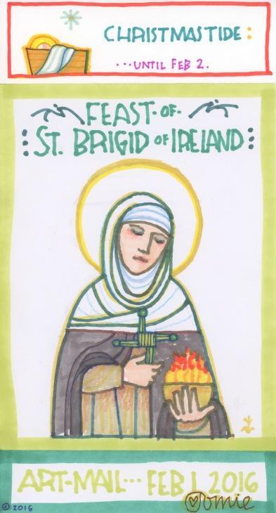 St Brigid of Ireland 2016