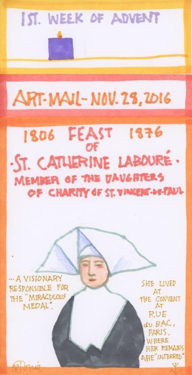 St Catherine Laboure 2016