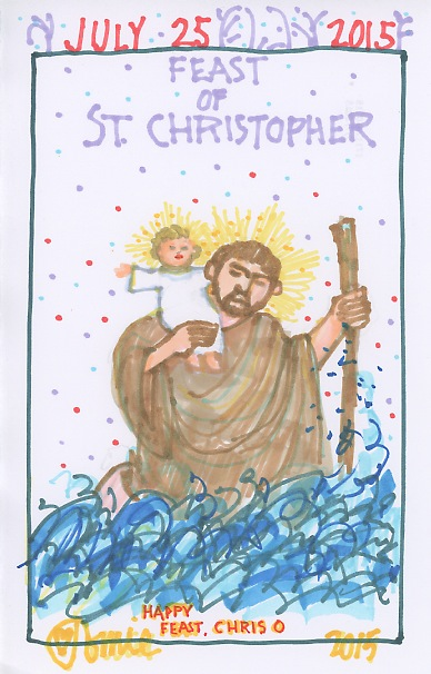 St Christopher 2015