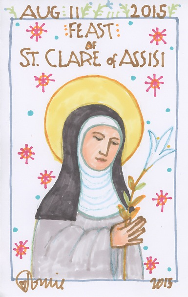 St Clare 2015