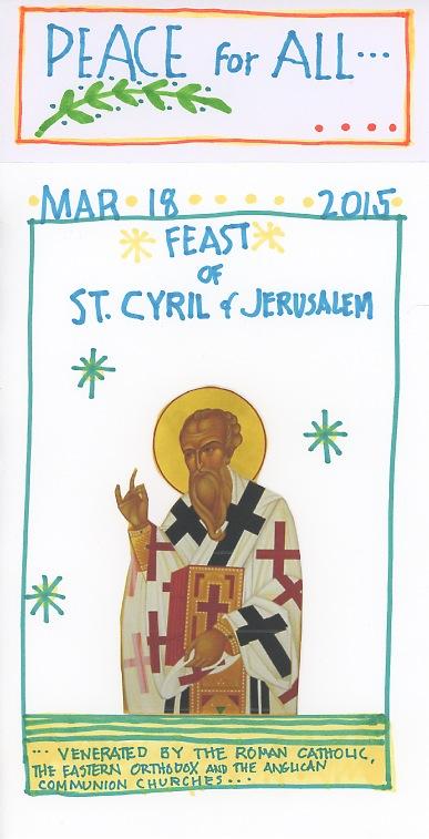 St Cyril 2015