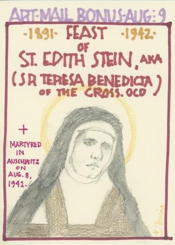 St Edith Stein 2017